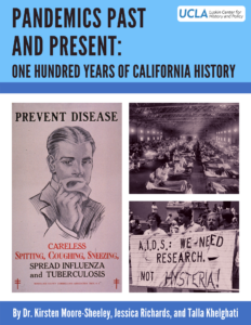 Pandemics Past and Present cover page
